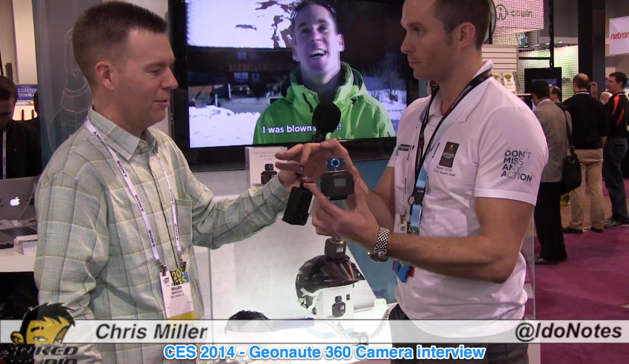 CES 2014 Geonaute 360 Camera