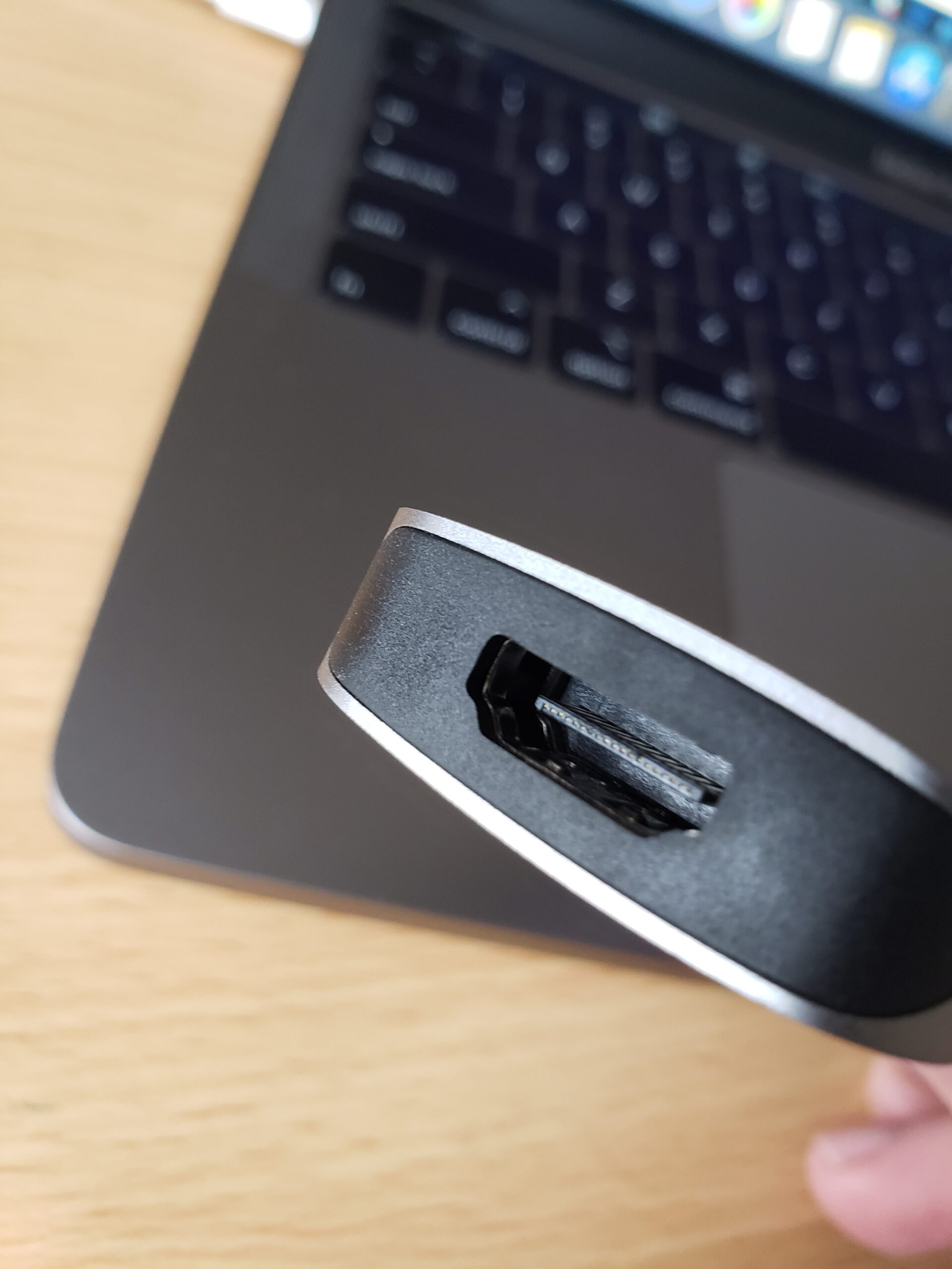 Kinivo 710UC HDMI port